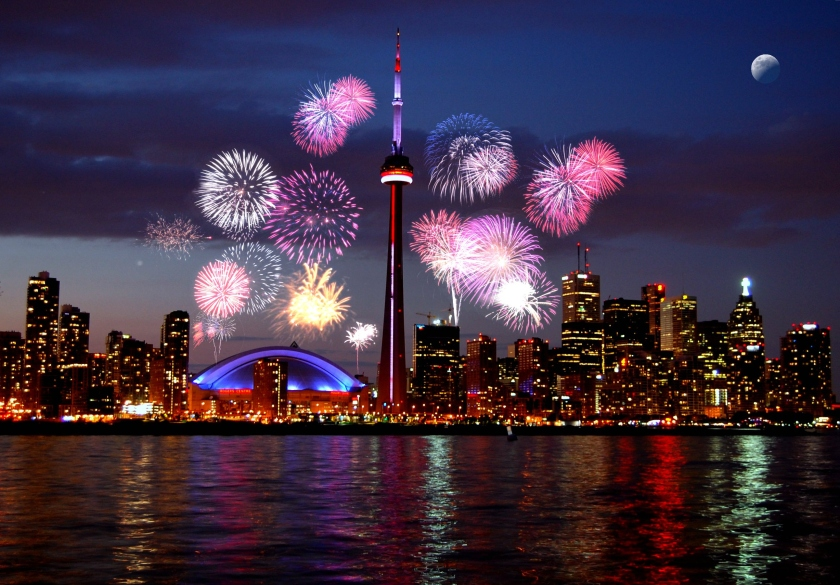 Toronto Cavalcade of lights Festival.
