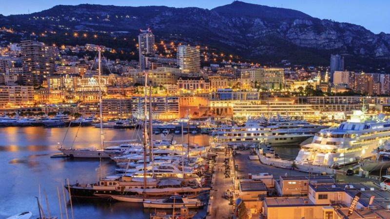 The marina at Port Monte Carlo. Monaco. (Getty)