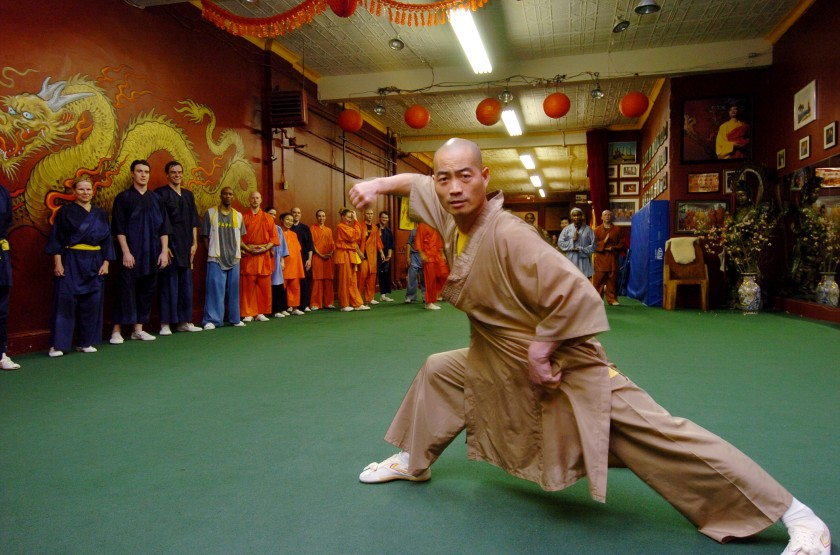 Shaolin Temple founder Sifu Shi Yan-Ming. (Photo by James Keivom/NY Daily News Archive via Getty Images)