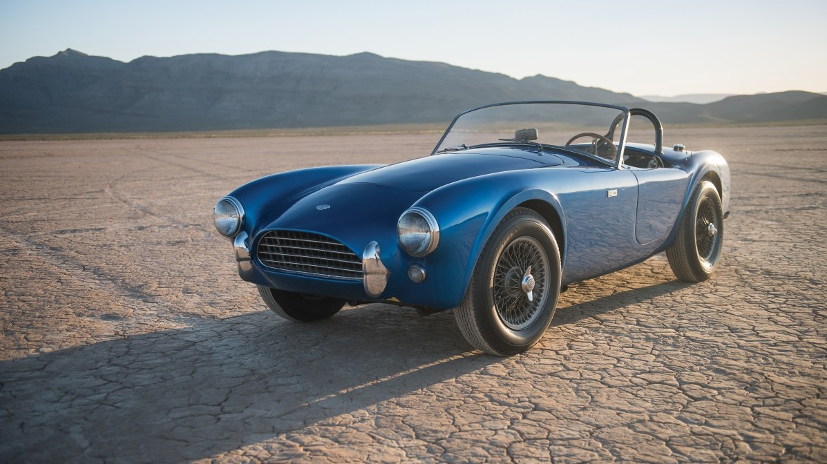 First-Ever Shelby Cobra 'CSX 2000' Set for RM Sotheby's Auction