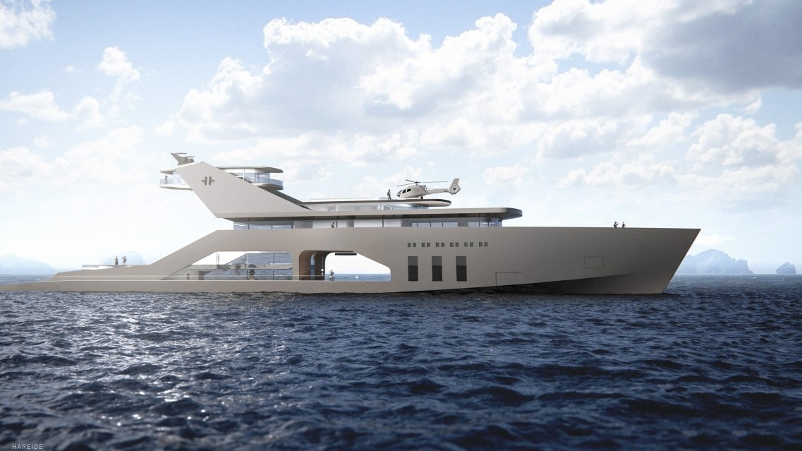 Concept Superyacht Brings Your Backyard to Open Waters