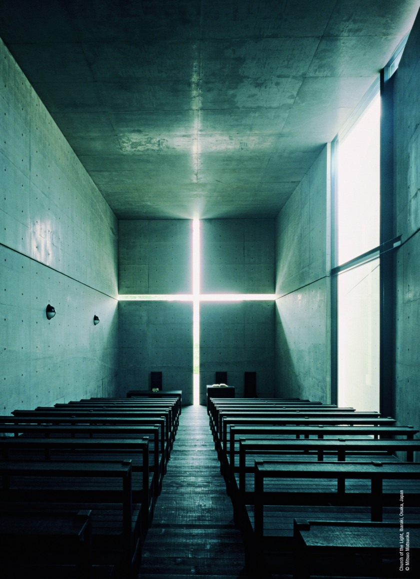 Church of the Light in Osaka, Japan (Mitsuo Matsuoka)
