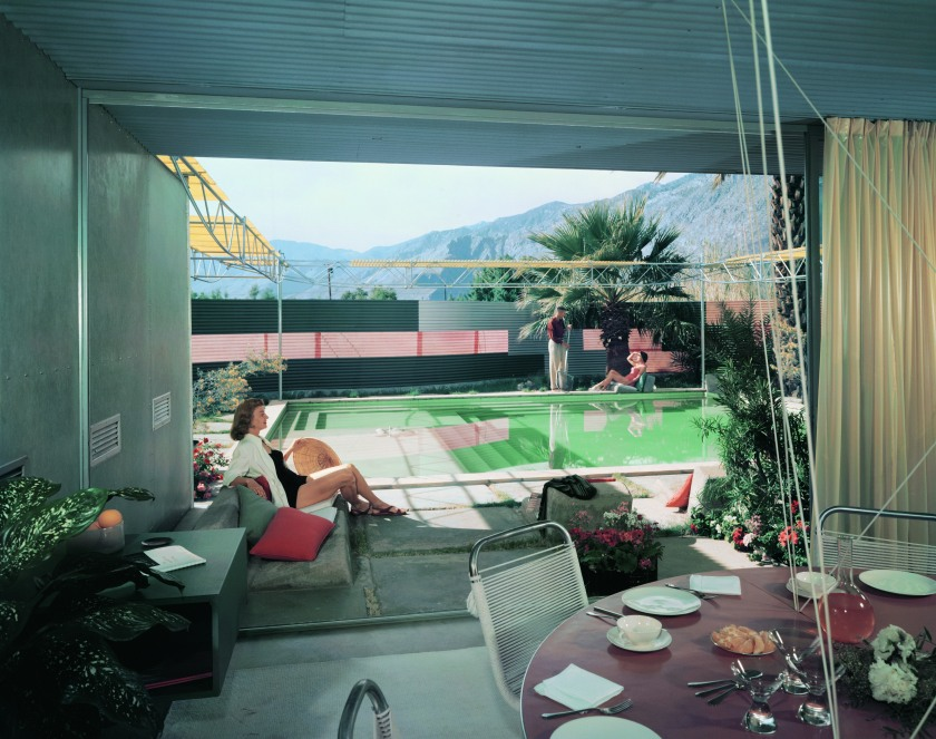 Frey Residence I by Albert Frey, Palm Springs, California, 1956. (Julius Shulman Photography Archive, Research Library at the Getty Research Institute.)