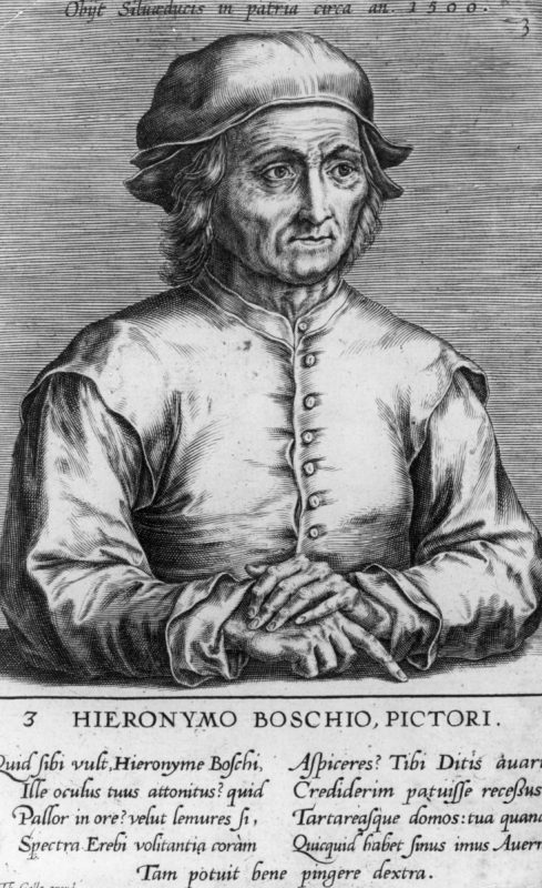 Circa 1500, The Dutch painter Hieronymus Bosch, (c1460 - 1516), also known as Jeroen van Aeken. (Photo by Hulton Archive/Getty Images)