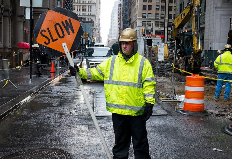 Construction in New York City