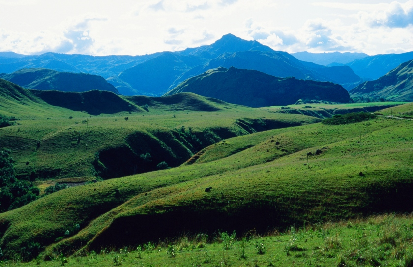 Landscape of the Tierradentro region in Huila, Colombia (Getty Images)