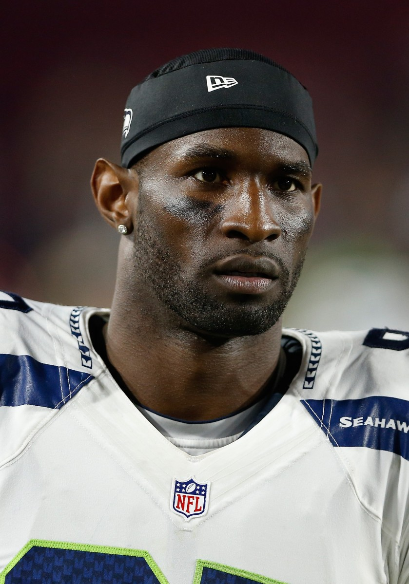 GLENDALE, AZ - DECEMBER 21:  Wide receiver Ricardo Lockette #83 of the Seattle Seahawks on the sidelines during the NFL game against the Arizona Cardinals at the University of Phoenix Stadium on December 21, 2014 in Glendale, Arizona.  (Photo by Christian Petersen/Getty Images)