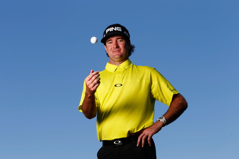 Bubba Watson of the USA poses for a portrait during a practice round ahead of THE PLAYERS Championship on The Stadium Course at TPC Sawgrass on May 6, 2014 in Ponte Vedra Beach, Florida. (Sam Greenwood/Getty Images)