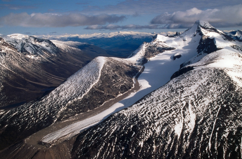 Snowcapped Mountains on Baffin Island (Christopher J. Morris/Corbis via Getty Images)