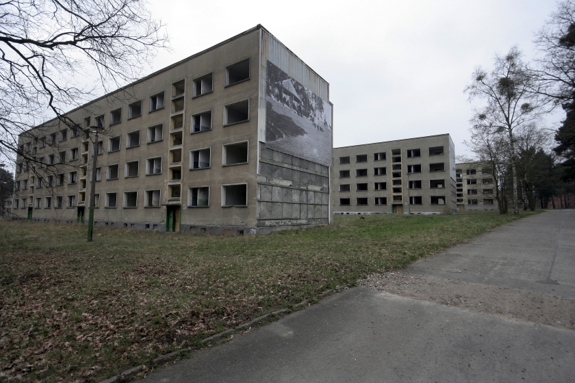 (GERMANY OUT) Germany - Brandenburg - Elstal: Deserted houses for the athletes in the former Olympic Village (Olympic Games 1936 in Berlin). (Photo by Ritter/ullstein bild via Getty Images)