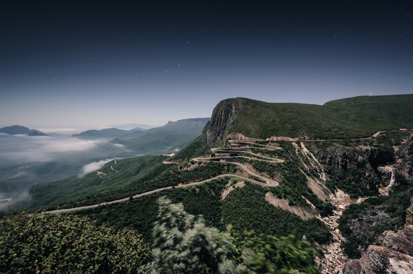 The Serra da Leba road in the province of Huila in Angola near the town of Lubango. (Getty Images)