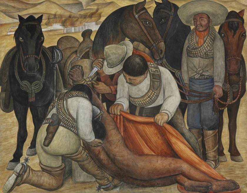 Liberation of the Peon, 1931, by Diego Rivera (Banco de México Diego Rivera Frida Kahlo Museums Trust, Mexico, D.F./Artists Rights Society (ARS), New York)
