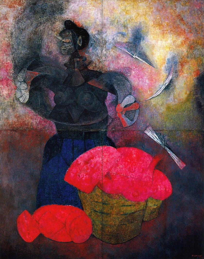 Homage to the Indian Race, 1952, by Rufino Tamayo (Rufino Tamayo/Visual Artists and Galleries Association, New York, New York)