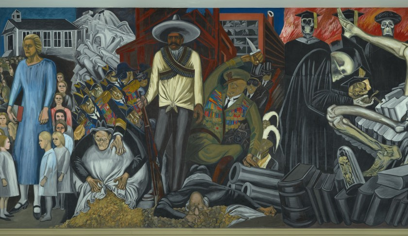 The Epic of American Civilization (detail), 1932–34, by José Clemente Orozco (Jose Clemente Orozco/Artists Rights Society (ARS), New York/SOMAAP, Mexico City)
