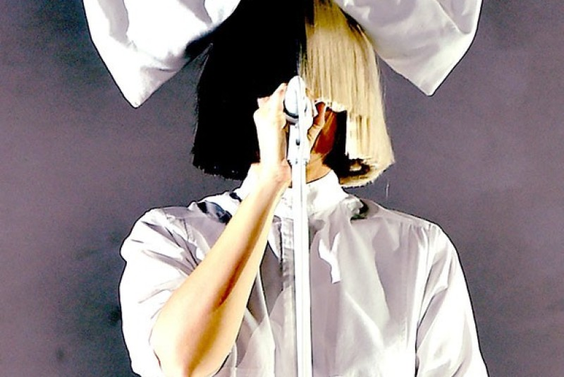 BUDAPEST, HUNGARY - AUGUST 15: (EDITORS NOTE: This image was edited using digital filters) Sia performs on Day 6 at the Sziget Festival 2016 on August 15, 2016 in Budapest, Hungary. (Photo by Joseph Okpako/WireImage)