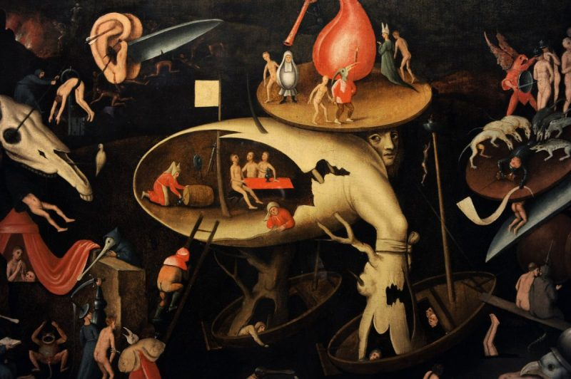Hieronymus Bosch (1450-1516). The Last Judgement, 1540. German Historical Museum, Berlin, Germany. (Photo by: PHAS/UIG via Getty Images)