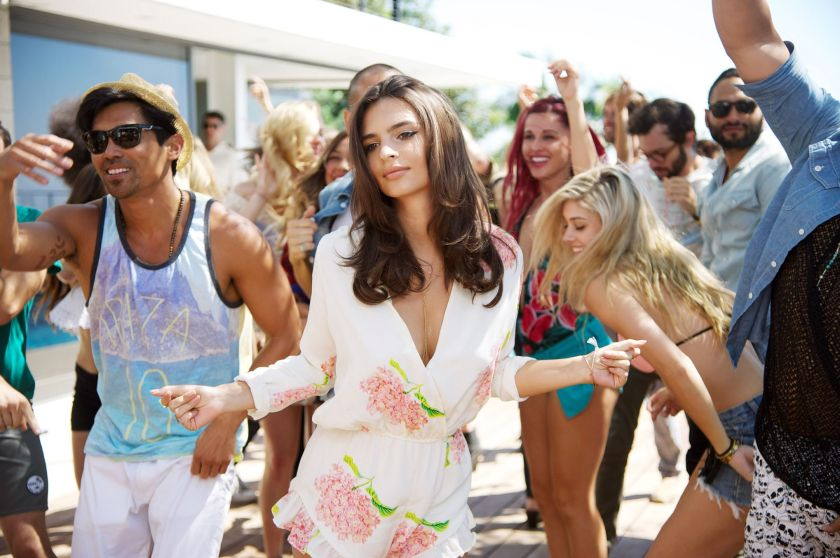 Emily Ratajkowski in 'We Are Your Friends' (Warner Bros. Entertainment)