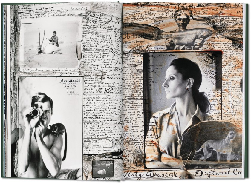 Pages from Beard's diary (Peter Beard)