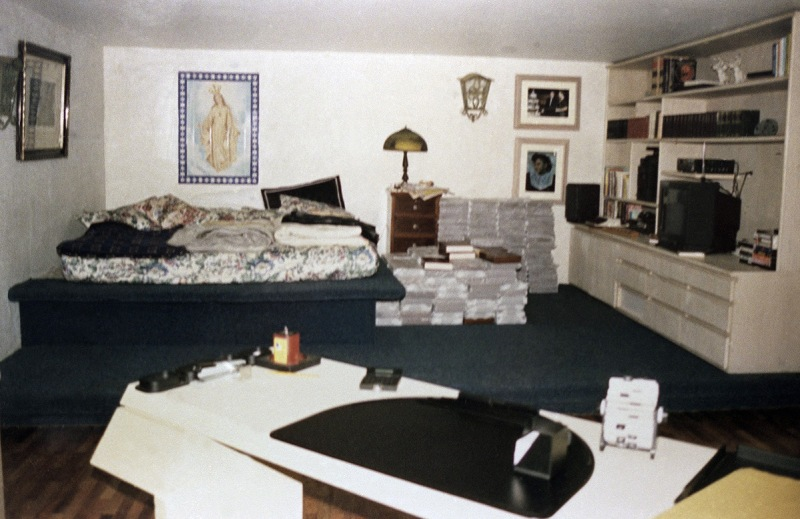 This is the bedroom of the luxurious private prison, La Catedral, where Colombian cocaine kingpin Pablo Escobar will be confined, seen Aug. 1992. (AP Photo)