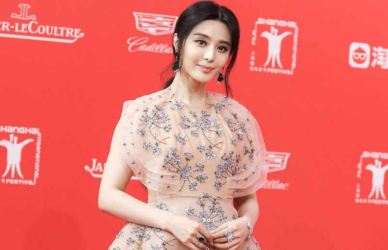 SHANGHAI, CHINA - JUNE 11: (CHINA OUT) Actress Fan Bingbing walks the red carpet of the 19th Shanghai International Film Festival at Shanghai Grand Theatre on June 11, 2016 in Shanghai, China. (Photo by VCG/VCG via Getty Images)