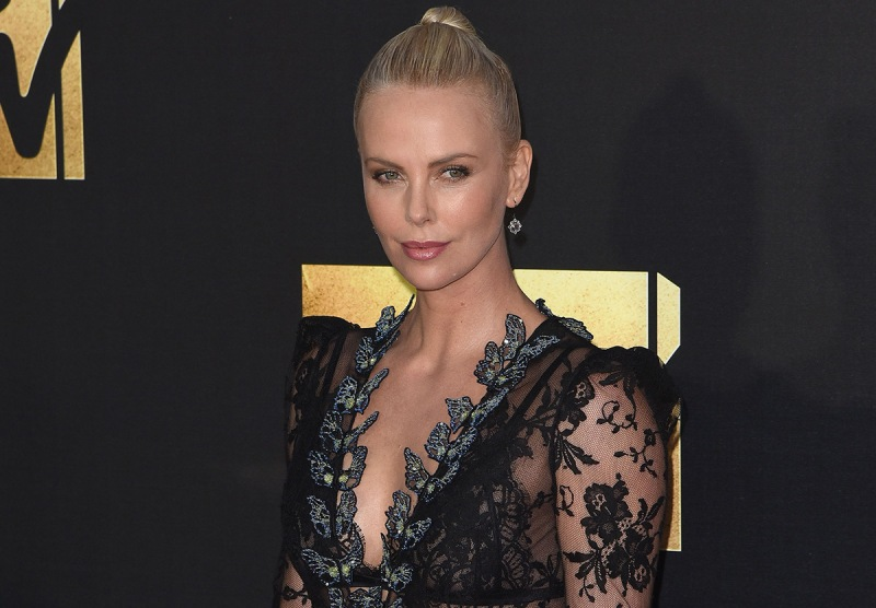 BURBANK, CALIFORNIA - APRIL 09: Actress Charlize Theron attends the 2016 MTV Movie Awards at Warner Bros. Studios on April 9, 2016 in Burbank, California. (Photo by C Flanigan/WireImage)