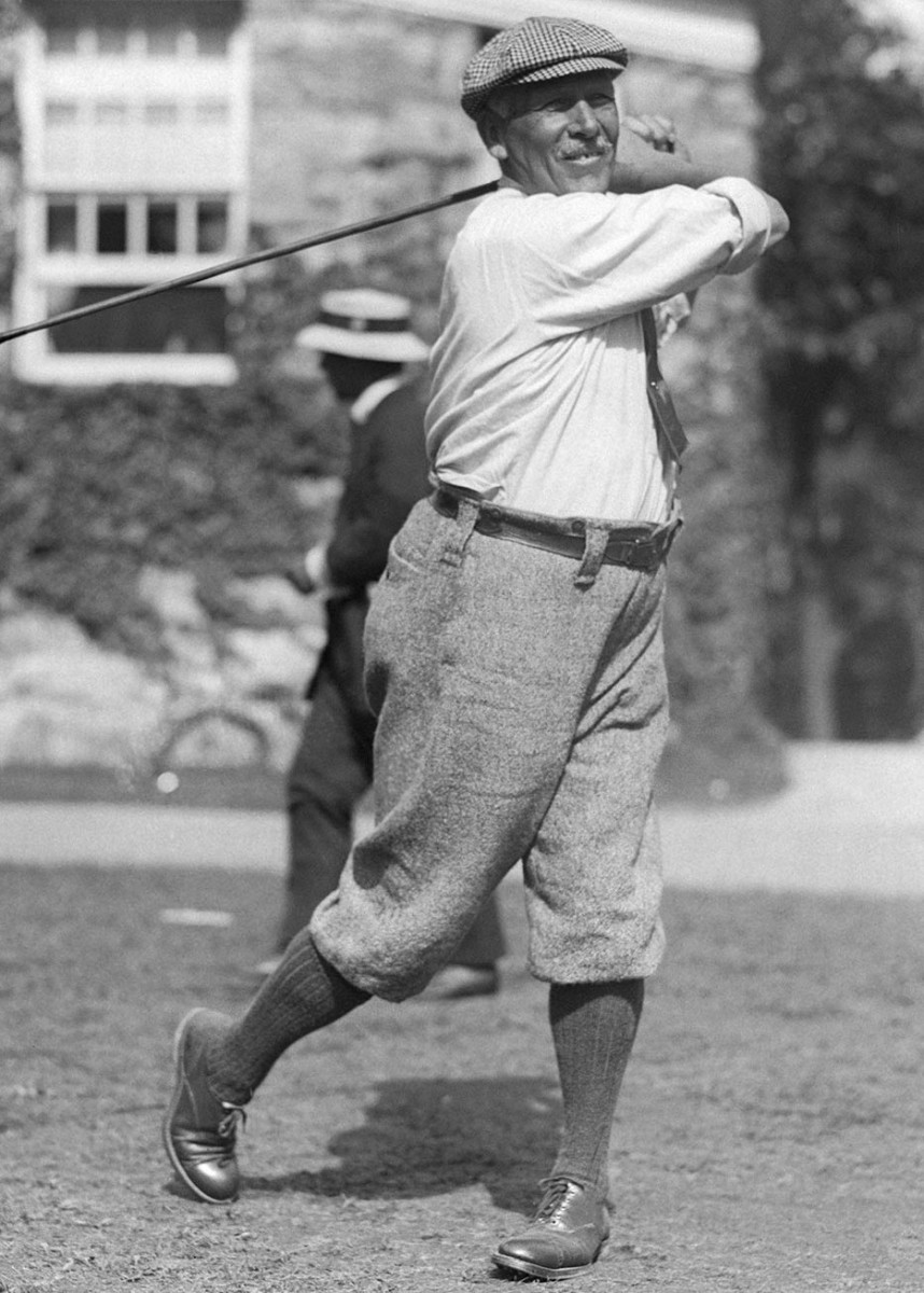 (Original Caption) George Seymour Lyon (1858-1938), Canadian golf champion.