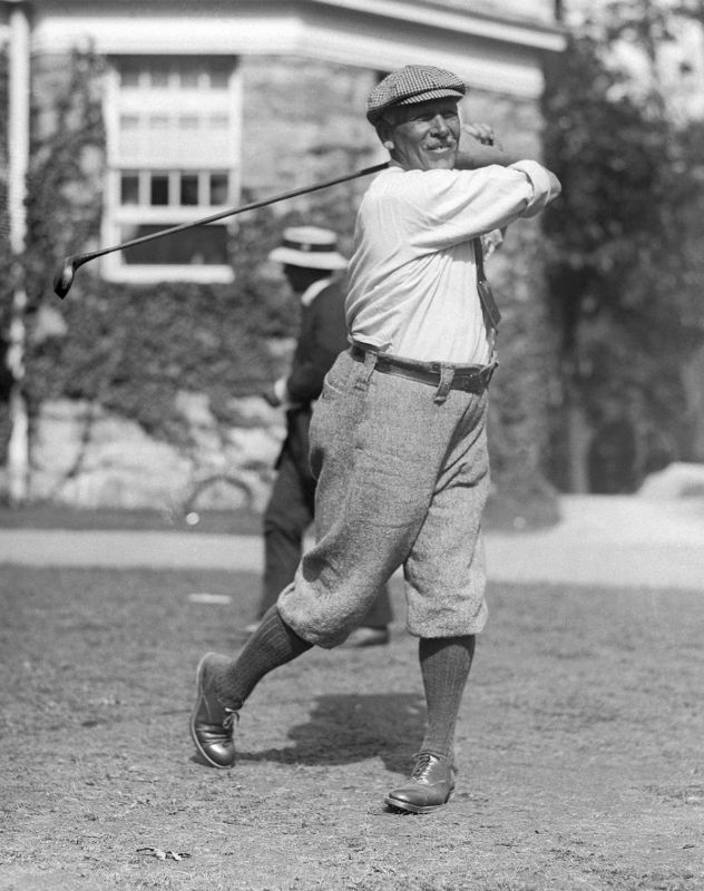 George Seymour Lyon (1858-1938), Canadian golf champion.
