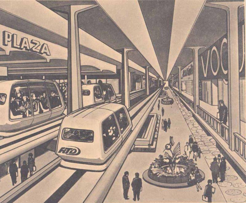 Plaza brought to life by shot-hop transit (Metropolis Books )
