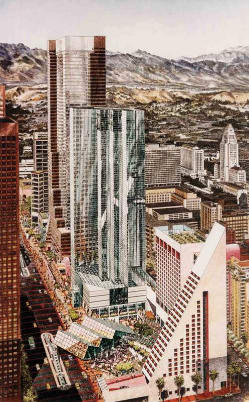 Barton Myers, Cesar Pelli, Frank Gehry, and others A Grand Avenue: Architectureal icons march down Grand Avenue (Metropolis Books )