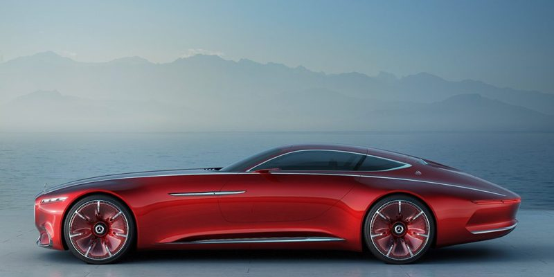 The Vision Mercedes-Maybach 6 (Mercedes-Benz)