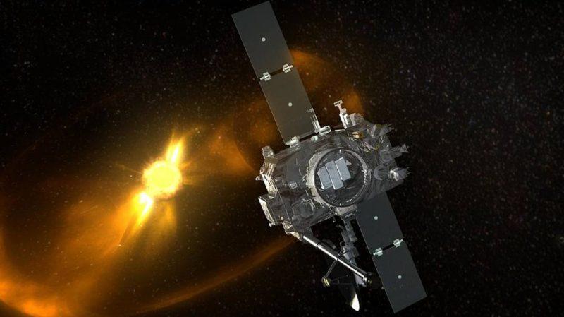 Artist rendition of STEREO spacecraft (NASA)