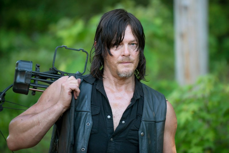 Norman Reedus as Daryl Dixon - The Walking Dead _ Season 6, Episode 1 -(Gene Page/AMC)