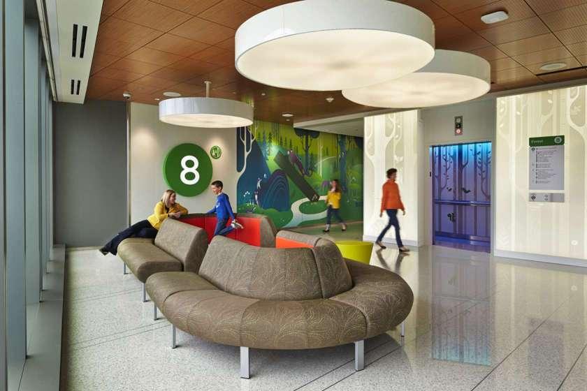 Seattle Children's Hospital in Seattle, Washington(ZGF Architects)