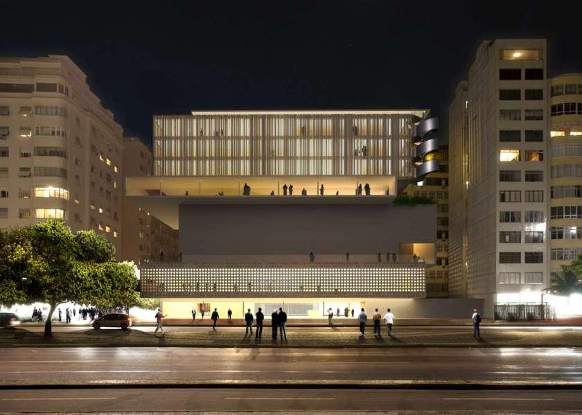Rio de Janeiro Museum Proposal (Isay Weinfeld)