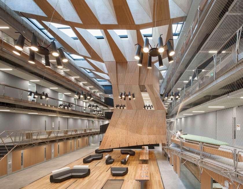 Melbourne School of Design in Melbourne, Australia (NADAAA, Inc.)