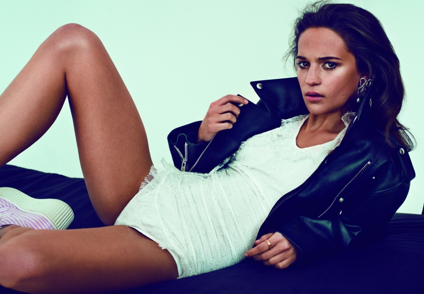 Alicia Vikander (Marc Hom/Published by teNeues)