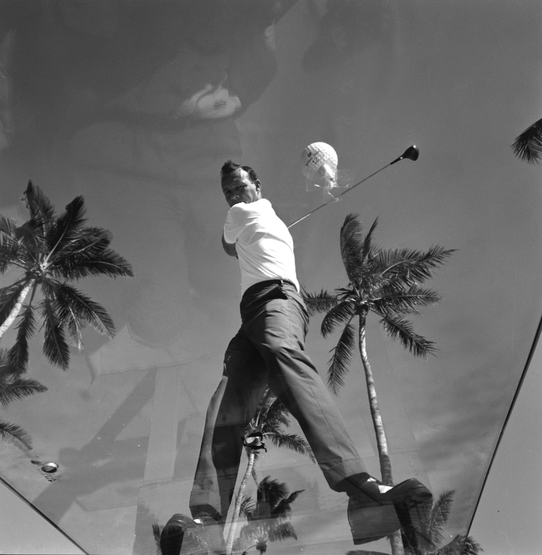 Arnold Palmer's swing. (Photo by Lynn Pelham/The LIFE Picture Collection/Getty Images)