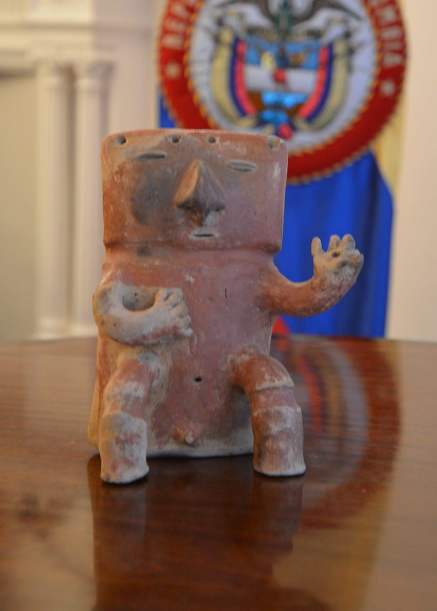 Recovered Colombian Art