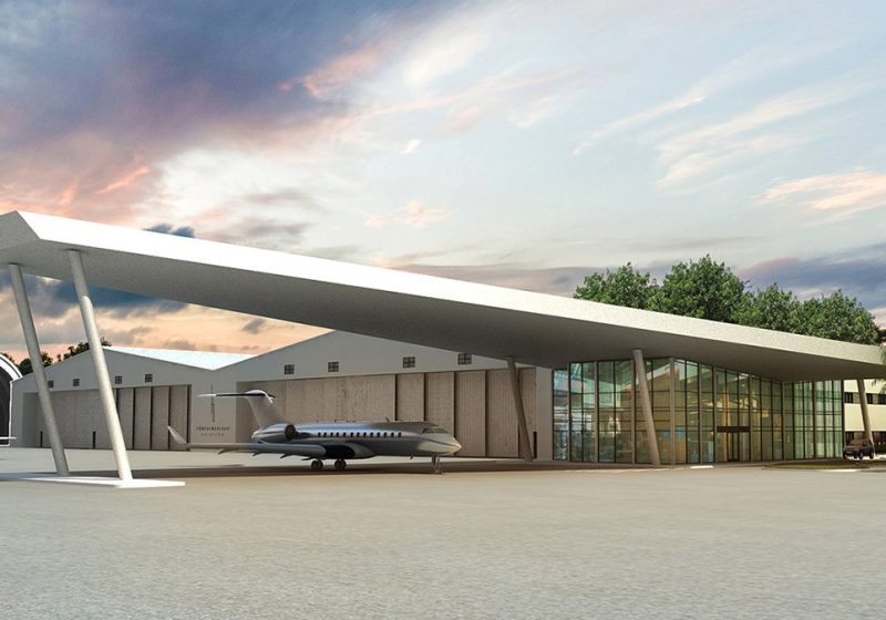 Private Jet Parking Spaces