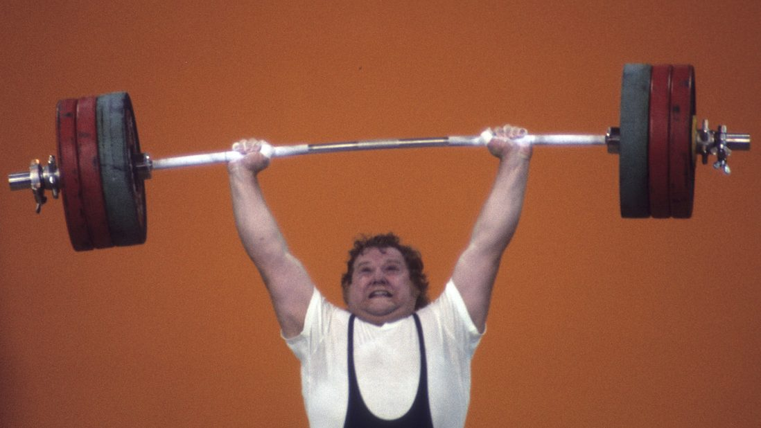ABC SPORTS - 1976 SUMMER OLYMPICS - The 1976 Summer Olympic Games aired on the ABC Television Network from July 17 to August 1, 1976. Shoot Date: July 27, 1976. (Photo by ABC Photo Archives/ABC via Getty Images) GERD BONK (EAST GERMANY, SILVER), WEIGHTLIFTING - SUPER HEAVYWEIGHT