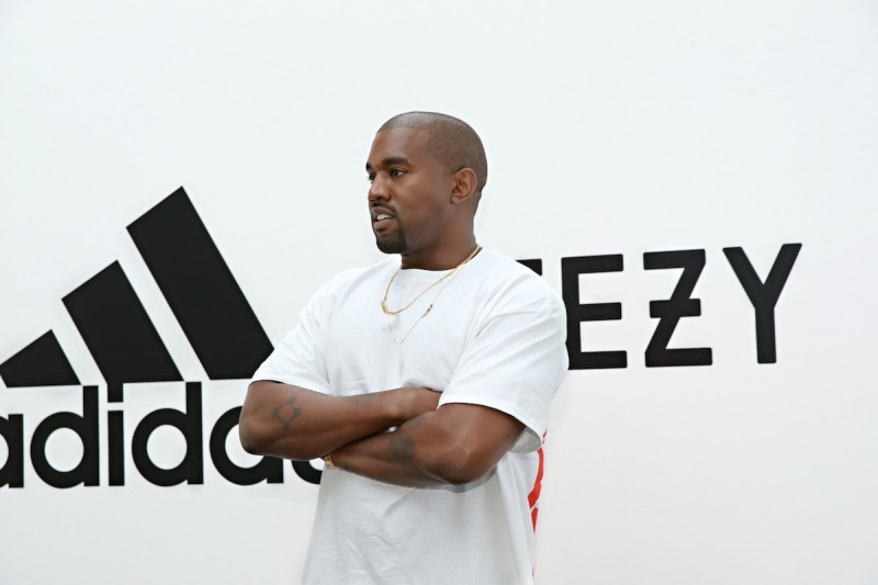 HOLLYWOOD, CA - JUNE 28: Kanye West at Milk Studios on June 28, 2016 in Hollywood, California. adidas and Kanye West announce the future of their partnership: adidas + KANYE WEST (Photo by Jonathan Leibson/Getty Images for ADIDAS)