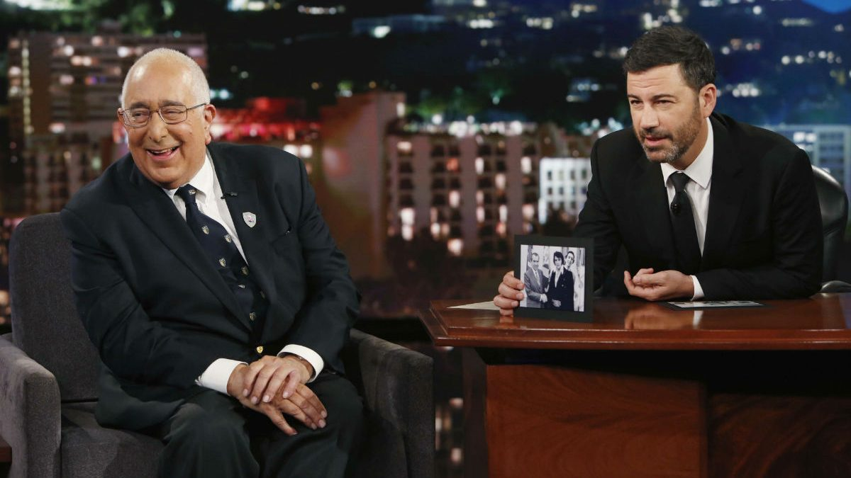 Ben Stein and Jimmy Kimmel