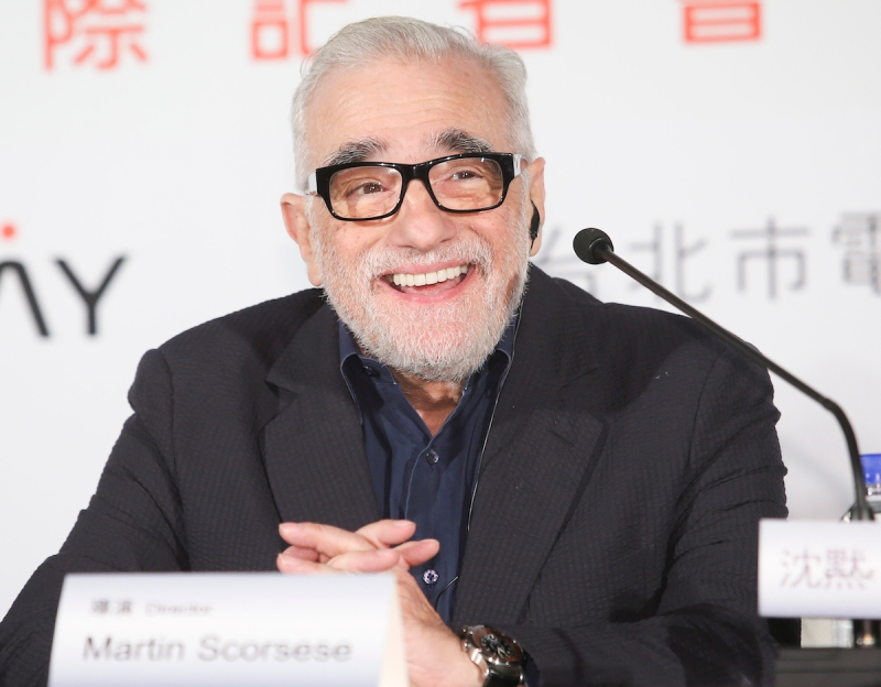 TAIPEI, TAIWAN - MAY 04: (CHINA OUT, TAIWAN OUT) Director Martin Scorsese attends press conference for his film Silence on May 4, 2015 in Taipei, Taiwan of China. (Photo by VCG/VCG via Getty Images)