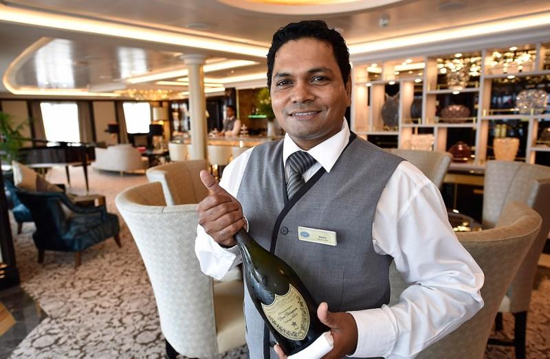 Regent suite butler (Norwegian Cruise Line)