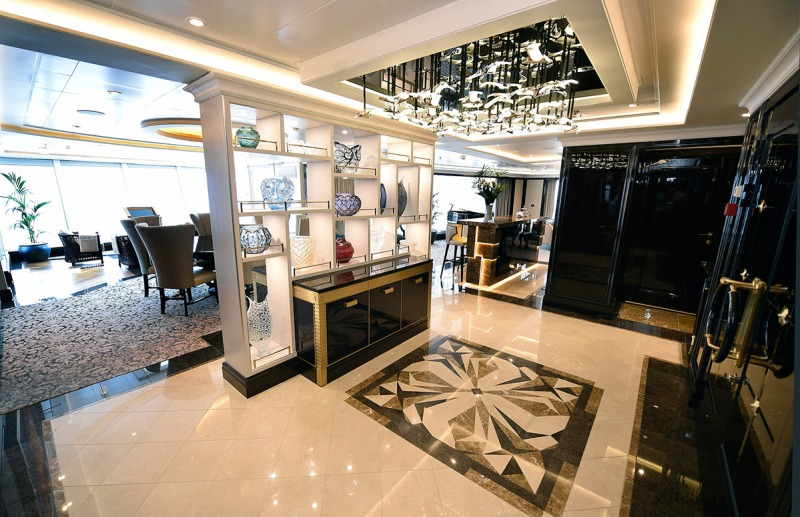 Suite Entrance (Norwegian Cruise Line)