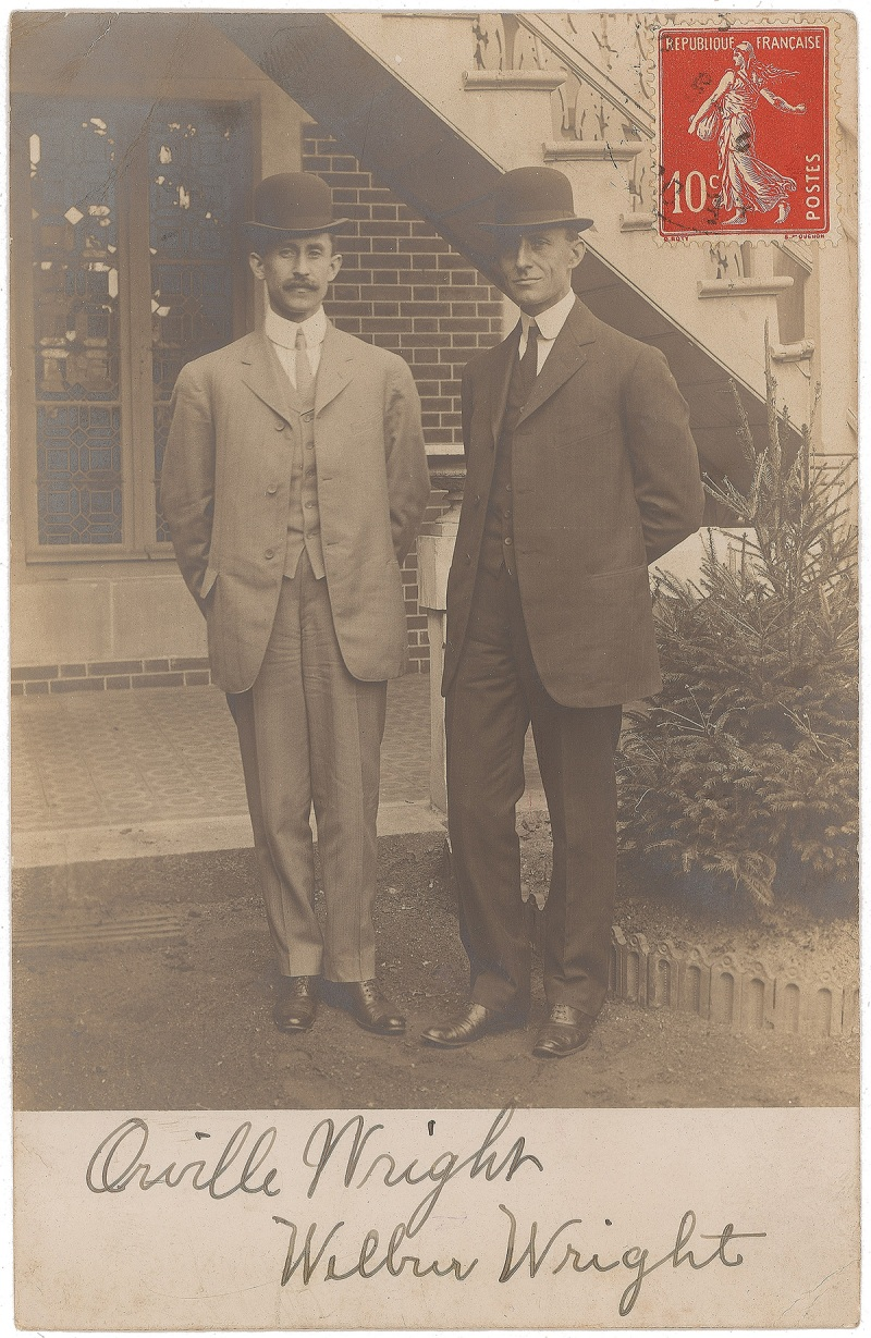 Wright Brothers Autographs
