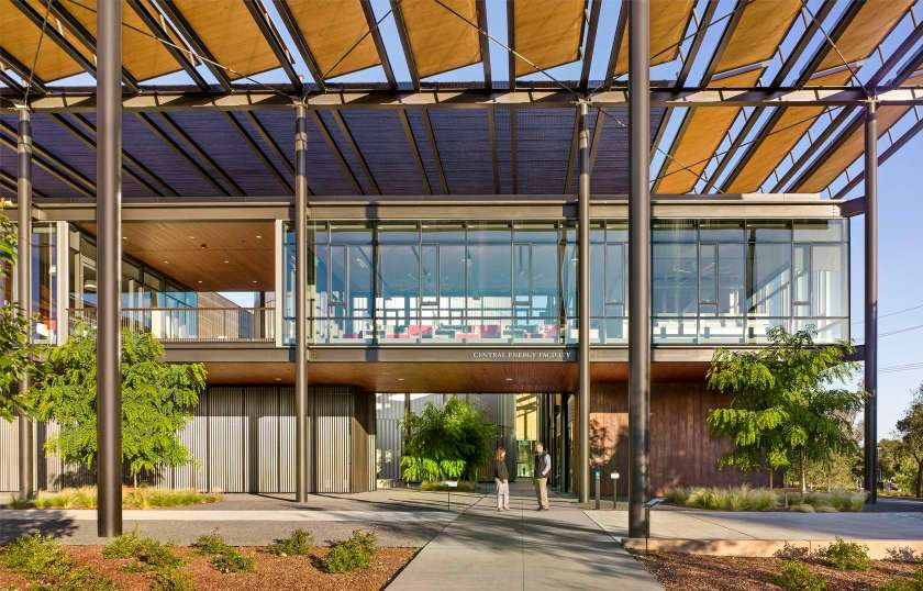 Stanford University's Central Energy Facility in Standford University (ZGF Architects)