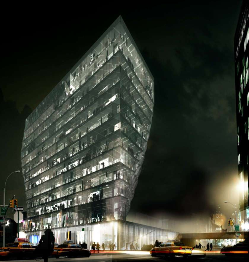 Solar Carve Tower in New York, New York (Studio Gang Architects)