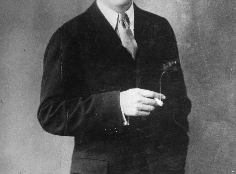 Portrait of Scott Fitzgerald,, 1933,, United States,, Paris. Centre Benjamin Franklin. (Photo by: Photo12/UIG via Getty Images)