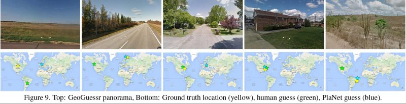 (PlaNet—Photo Geolocation with Convolutional Neural Networks)